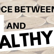 difference between rich and wealthy