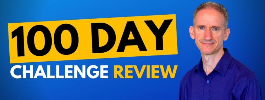 100 day challenge review