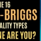 16 myers-briggs personality type