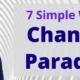 change a paradigm